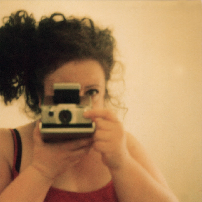 self-portrait polaroid