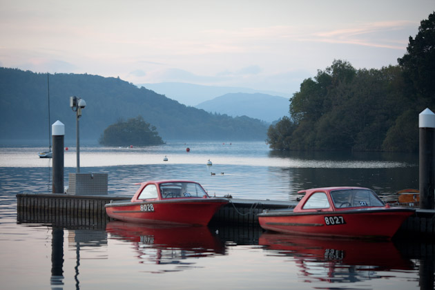 boats for hire - Lake Windermere