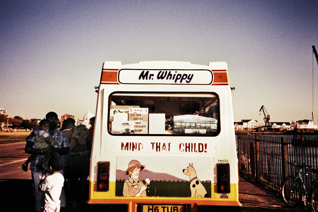 xpro - ice cream van