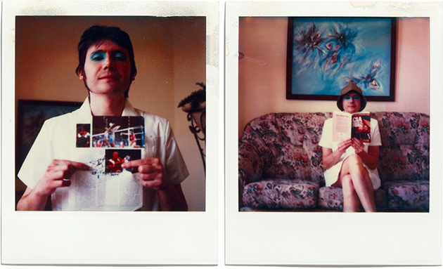nicky wire - polaroids