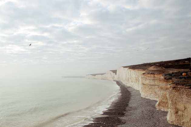 Beachy Head  - taken with Canon %D MkII and 17-40 lens