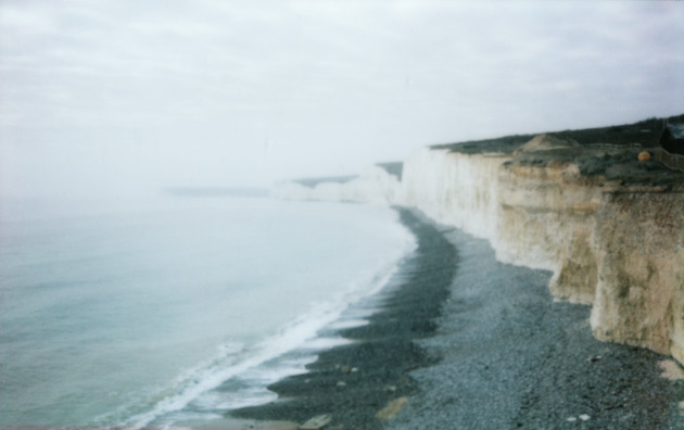 Beachy Head (again) - taken with Fuji Instax 200