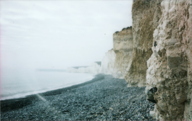 Beachy Head - taken with Fuji Instax 200