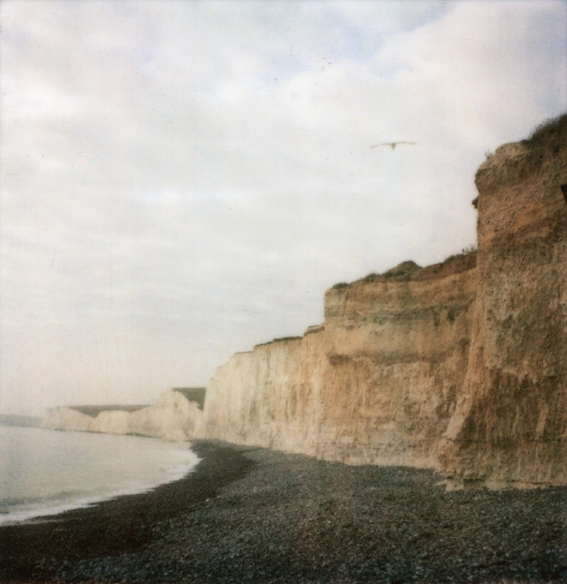 Beachy Head - taken with Polaroid SX-70