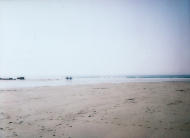 instax mini - beach