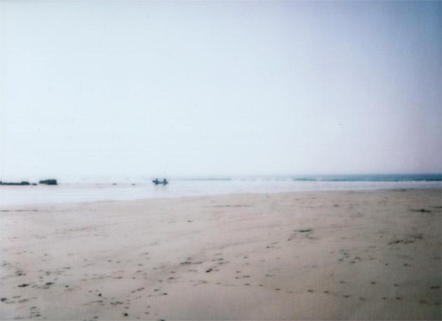 instax mini - beach