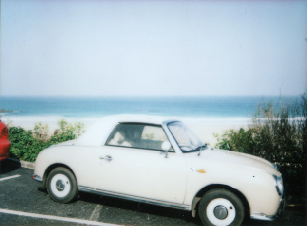 instax mini - sweet little car