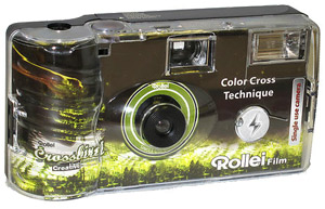 rollei crossbird single-use camera