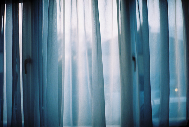pentax k1000 - curtains