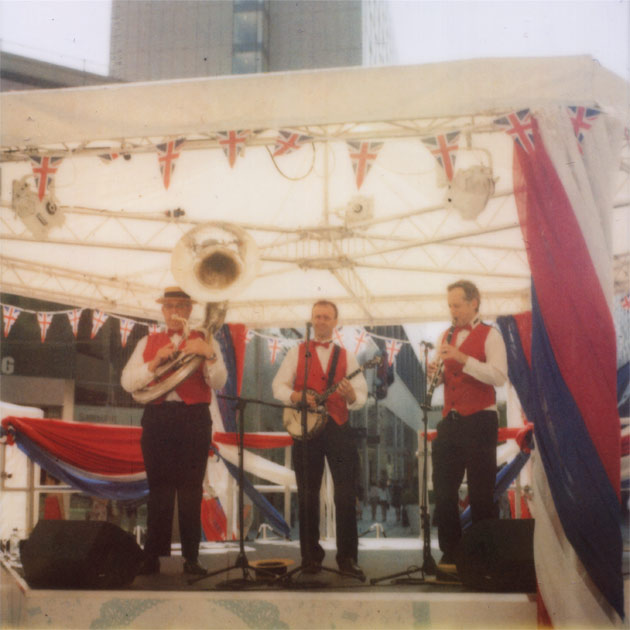 stratford, london - jubilee band (polaroid)