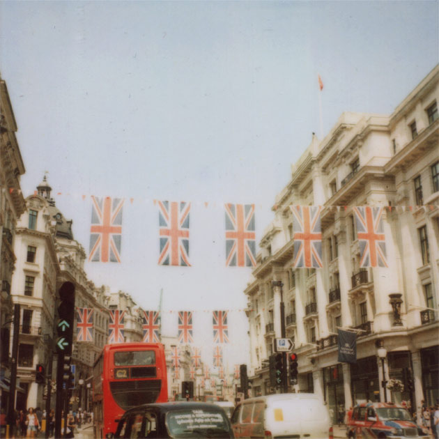 more of oxford street, london - jubilee (polaroid)