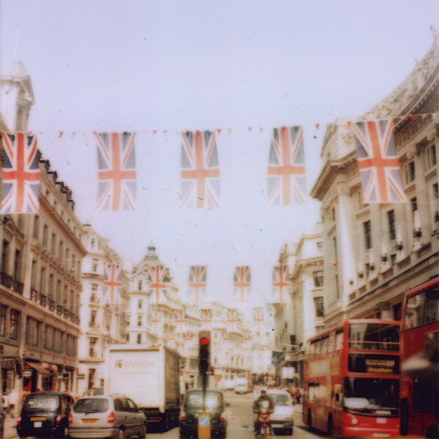 oxford street, london - jubilee (polaroid)