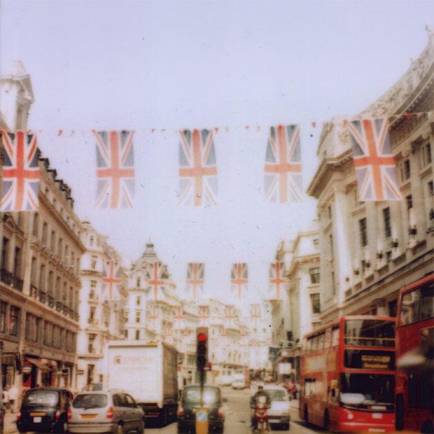 oxford street, london - jubilee (polaroid)