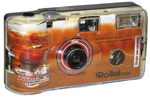 rollei redbird single-use camera