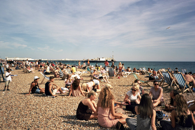 brighton sun-worshippers