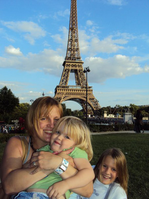 Me and the girls - Paris 2011