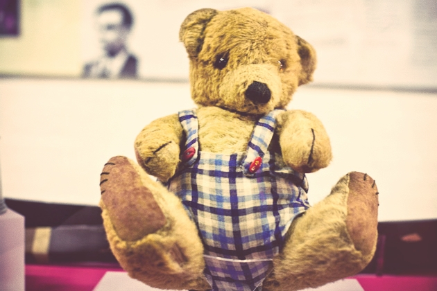 alan turing's teddy bear