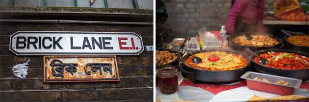 brick lane food