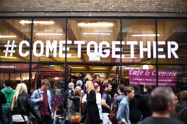 come together - brick lane