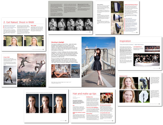 portaits - making the shot - ebook