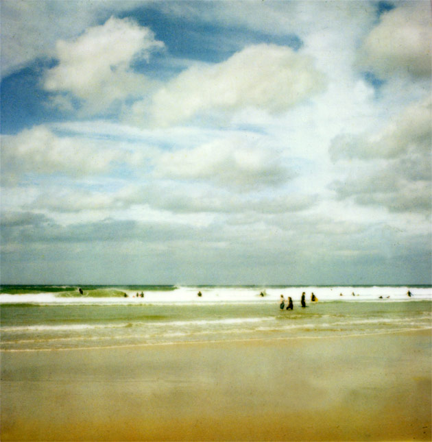polaroid SX-70 - beach