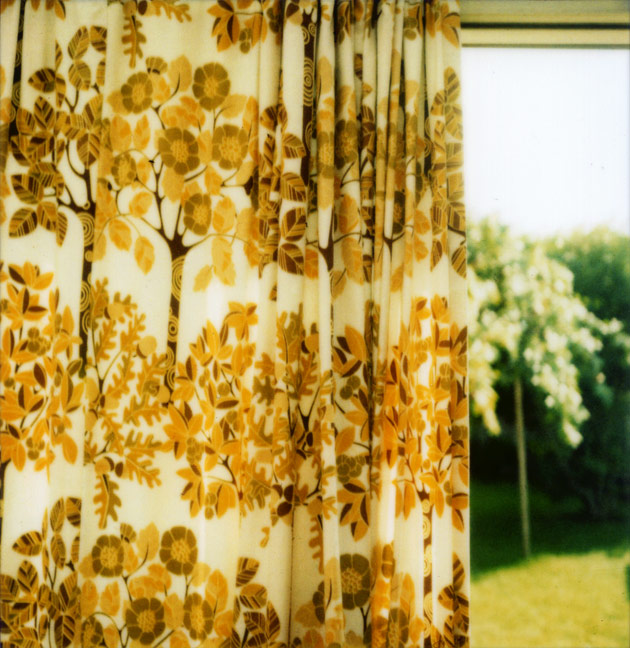 polaroid SX-70 - curtains