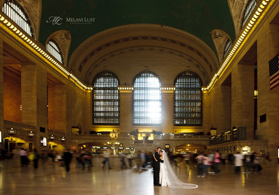 Melani Lust - Grand Central Wedding