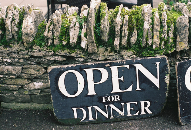 open for dinner - Pentax K1000