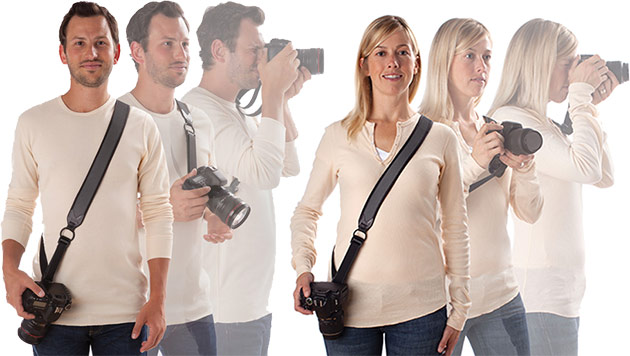 joby mens and womens camera strap
