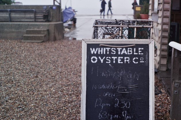 whitstable in the rain - pentax k1000