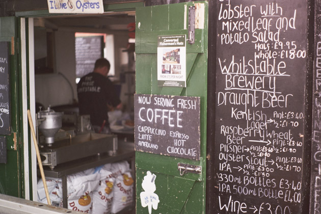 snack shack, whitstable - pentax k1000