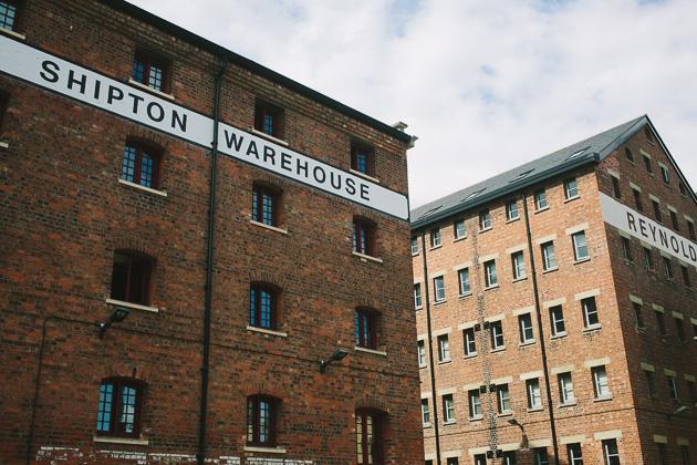 Warehouses, old Gloucester docks