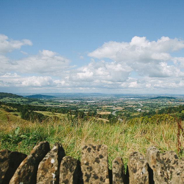 View from Birdlip, Gloucestershire