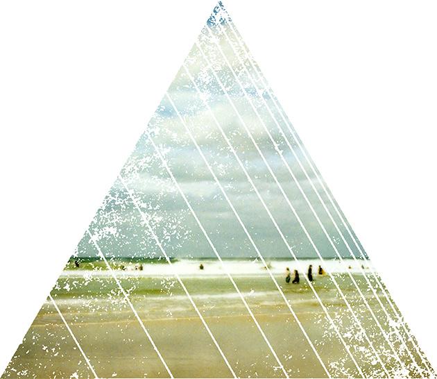 triangle beach